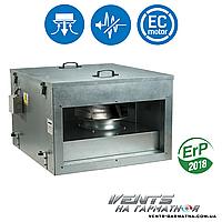 Вентс ВКПИ 600х350 ЕС. Канальный вентилятор в шумоизолированном корпусе с ЕС-мотором, фото 1