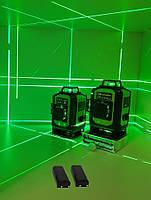 Лазерный уровень Fukuda MW94D 4GJ. 《МЕГА КОМПЛЕКТ》《2 шт Li-ion 4000mAh》СЕРЕБРЯНЫЕ ДИОДЫ》, фото 1