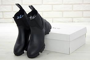Жіночі Чоботи Dior Black Winter (Демі)