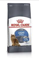Royal Canin Light Weight Care - корм для кошек от 1 до 7 лет, предрасположенных к избыточному весу 10 кг, фото 1