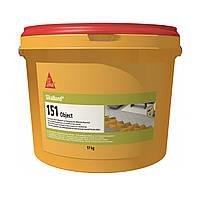 SikaBond 151 Паркетный однокомпонентный клей  эластичный экологически чистый 17 кг. 100% original