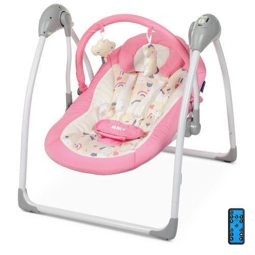 Детская качель для новорожденных  EL CAMINO ME 1047 Pink