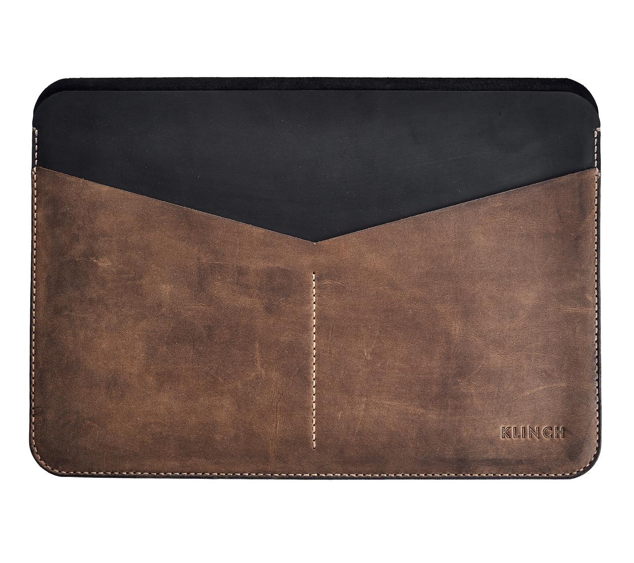"""Klinch Leather Sleeve чехол для MacBook 12"""" Side Cut"""