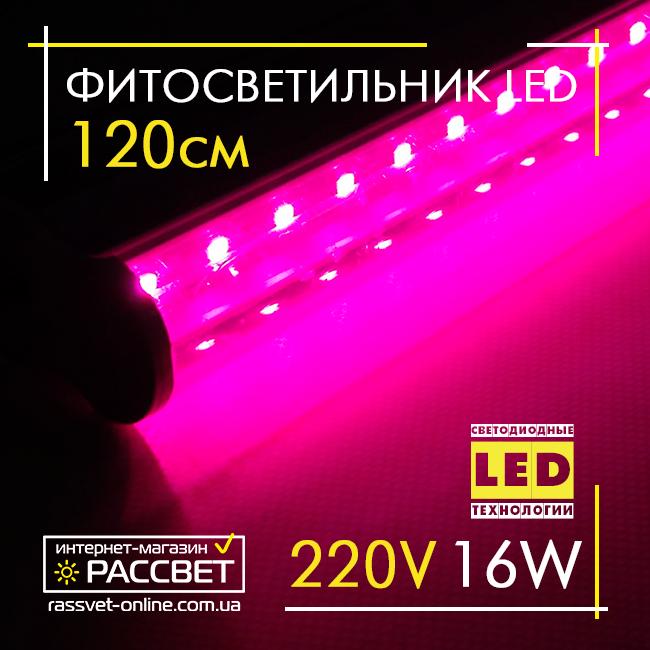 светодиодная фитолампа полного спектра