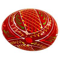 Яйце дерев'яне писанка №107
