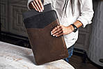"Klinch Leather Sleeve чехол для MacBook Pro 15,4"" Top Cut, фото 5"