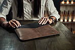 "Klinch Leather Sleeve Case чехол для MacBook Pro 15,4"" Side Cut, фото 6"