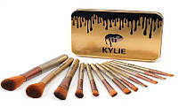 Кисти Kylie для макияжа 12 шт