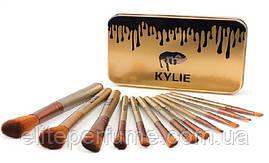 Кисті Kylie для макіяжу 12 шт