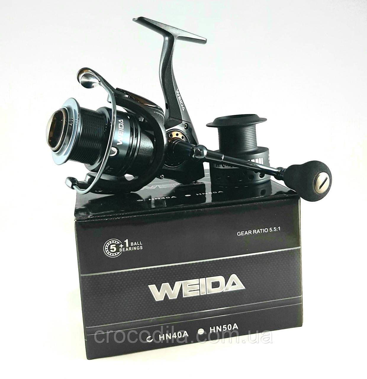 Фідерна котушка Weida ( Kaida) HN50A з низькопрофільною шпулей 5+1