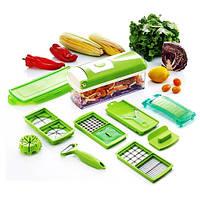 Универсальная Овощерезка 12в1 Найсер Дайсер Плюс (NicerDicerPlus)измельчитель удобный помощник на вашей кухни!