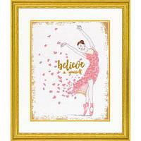 Набор для вышивания крестом Dream Dancer/Танцовщица мечты DIMENSIONS 70-35384