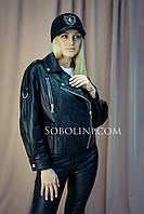 Куртка косуха из итальянской кожи, размеры в наличии