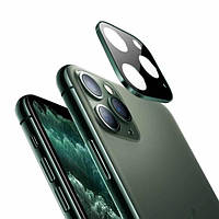 "Защитное стекло Tempered Glass 0,3 мм на заднюю камеру для Apple iPhone 11 Pro (5,8"")/ iPhone 11 Pro Max (6,5"") зеленый"