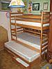 Ліжко трьохспальне Шрек+