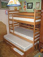 Ліжко трьохспальне Шрек+, фото 1