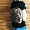Жіночий міні рюкзак ПУ шкіра, фото 2
