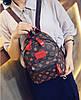 Мини рюкзаки для девушек коричневый, Рюкзак женский, Женский рюкзак городской, Мини-рюкзак женский стильный, фото 4