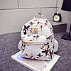 Рюкзак городской красивый, Стильный женский рюкзачок, Красивый маленький рюкзак, Женский рюкзак для города, фото 2