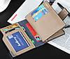 Мужской кошелек для документов, Красивый качественный модный стильный кошелек, Портмоне мужские, фото 7