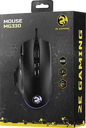 Мышь 2E Gaming MG330 Black (2E-MG330UB) USB, фото 3