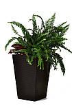 Цветочный горшок Keter Rattan Planter M 55,4 L, фото 3