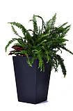 Цветочный горшок Keter Rattan Planter M 55,4 L, фото 2