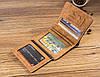Гарний якісний модний стильний гаманець, Чоловічі портмоне гаманці, Чоловічі портмоне гаманці, фото 10
