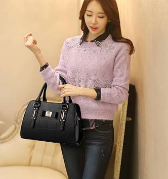 Модная женская сумка Черный