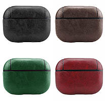Кожаный футляр Leather series к наушникам Apple AirPods Pro