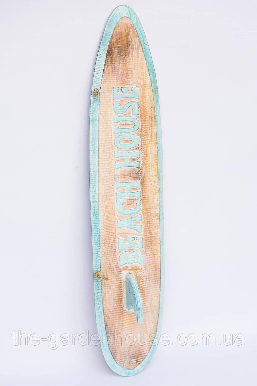 Декоративная доска для серфинга с килем, 80 см