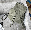 Женский рюкзак городской, Женский рюкзачок голубой, Модный женский рюкзак, Рюкзак женский для прогулок, фото 5