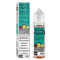 Жидкость для электронных сигарет PACHAMAMA Passion Fruit Raspberry Yuzu 3 мг 60 мл