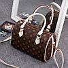 Женская сумка в стиле Луи Витон, Стильная женская сумка классическая коричневая, Модные женские сумки дешево, фото 2