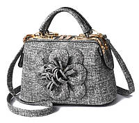 Женская мини сумочка цветок