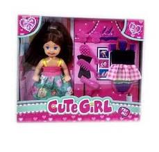 Кукла 86040-1 (144/2) платье, аксессуары, в коробке