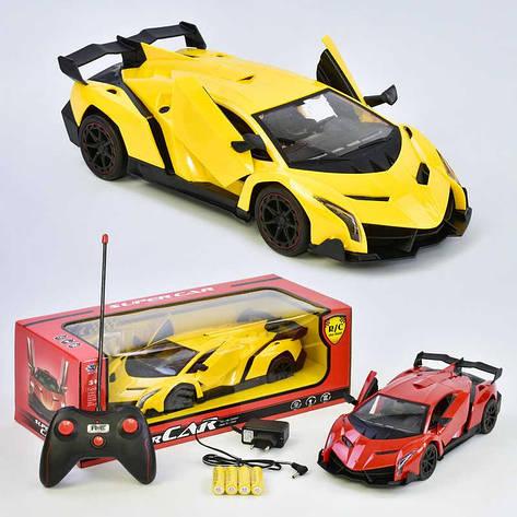 Машина на радиоуправлении 3688 - К8А (24) аккумулятор 4.8 V, двери открываются пультом, 2 цвета, в коробке , фото 2
