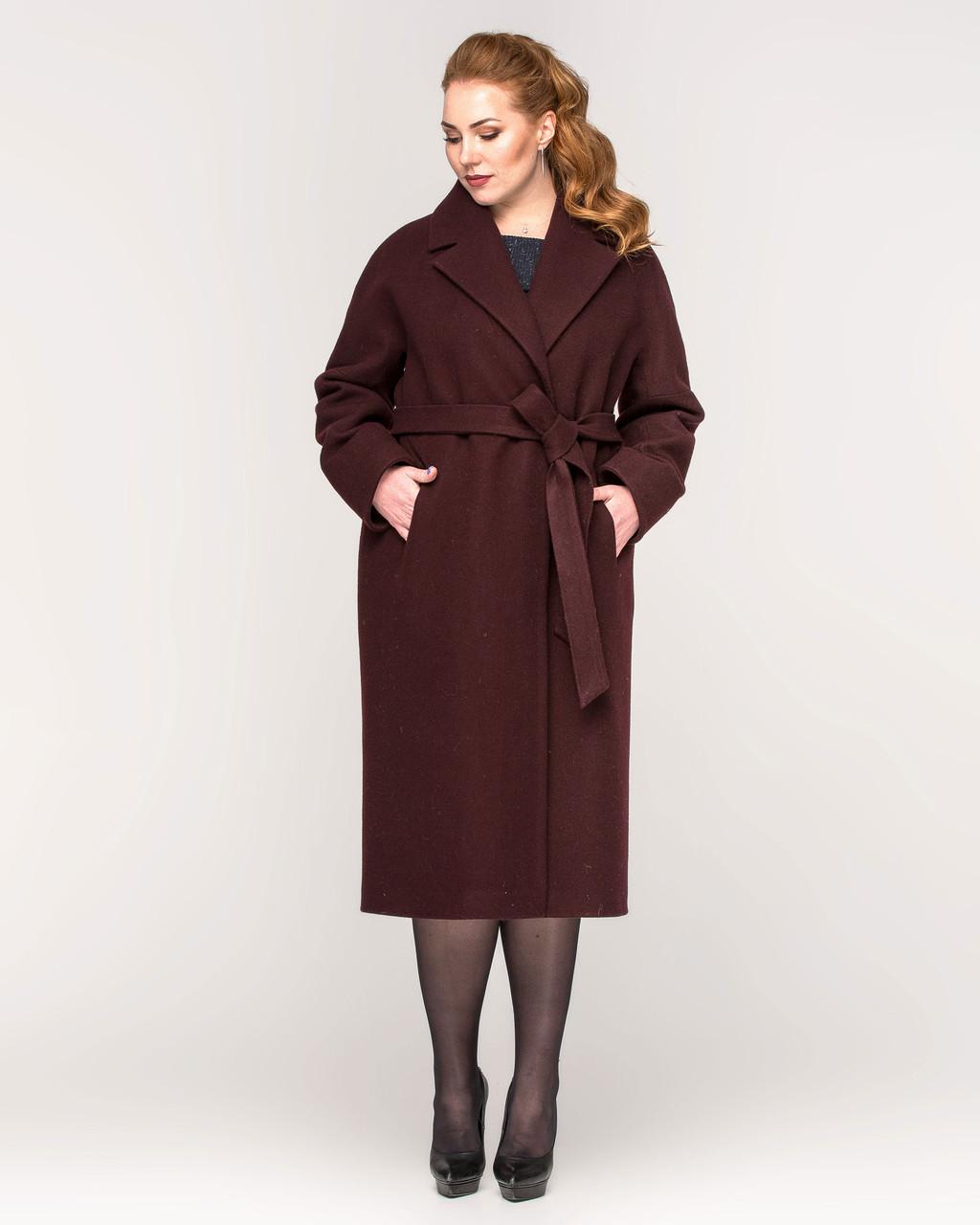Пальто жіноче кашемір з 44 по 56 р. Весна 2020