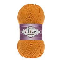 Пряжа Alize Cotton Gold 83 оранжевый