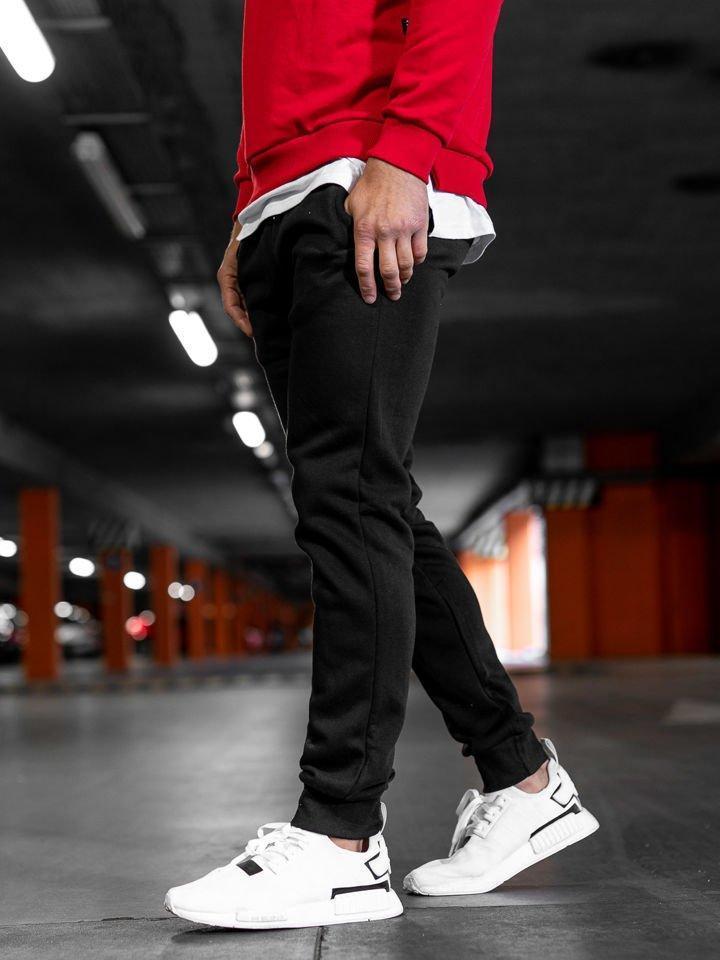 Спортивные штаны  Асос черные мужские