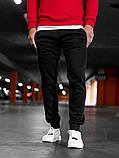 Спортивные штаны  Асос черные мужские, фото 2