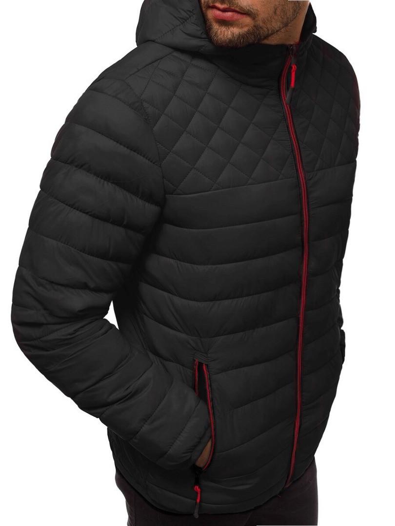 Чоловіча весняна куртка графитная