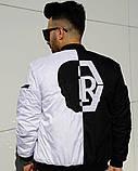 Мужская Дизайнерская куртка (бомбер,ветровка)Весенняя, фото 2