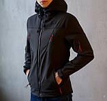 Мужская куртка Korol' Lev (черная), фото 3