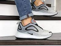 Кроссовки мужские Nike Air Max 720 светло серые, фото 1