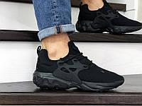 Кроссовки мужские Nike React Presto черные, фото 1