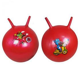 """Мяч для фитнеса """"Роги"""" 45 см (красный)  sco"""