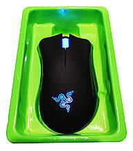 USB Мышь  Razer deathadder chroma (Черно-Синий цвет)