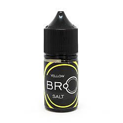 Жидкость для электронных сигарет Nolimit BRO Salt Yellow 30 мг 30 мл