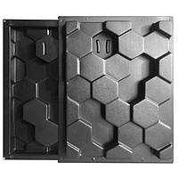 """Комплект форм """"Улей"""" для 3D перегородок из двухсторонних блоков"""